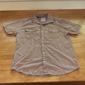 Men's Levi's brand shortsleeved button down